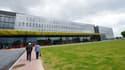 Le centre hospitalier de Douai, près de Lille, où sont hospitalisés les deux patients atteints du coronavirus.