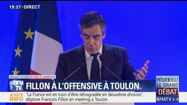 Meeting à Toulon: le discours de François Fillon