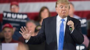 Donald Trump durant un meeting (photo d'illustration)
