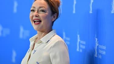 L'actrice française Catherine Frot, en février 2017 au festival du film de Berlin.