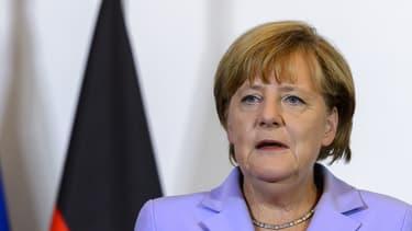 Angela Merkel, chancelière allemande, le 3 septembre 2015