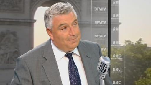 Frédéric Cuvillier, ministre délégué aux Transports était l'invité de RMC ce 19 septembre