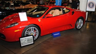 Cette Ferrari a appartenu à Donald Trump.