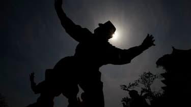 La réputation impitoyable des ninjas a été préservée par un groupe de combattants venus à la rescousse d'un étudiant de Sydney, qui se faisait agresser par trois assaillants. /Photo d'archives/REUTERS/Kim Kyung-Hoon