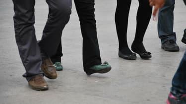 Les équipes, constituées de 4 collègues, vont devoir se bouger un maxiumum pour remporter le challenge Be walk.
