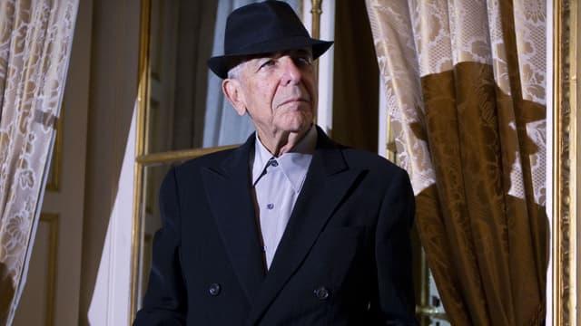 Leonard Cohen à Paris en 2012