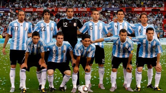 L'équipe d'Argentine