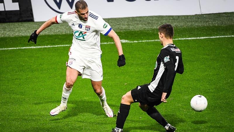 Coupe de France: l'OL écrase l'AC Ajaccio avec un immense Slimani