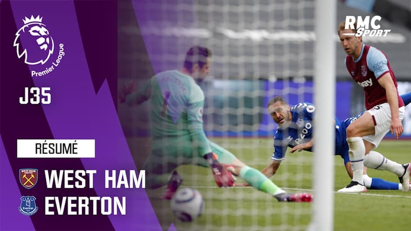 Résumé : West Ham 0-1 Everton - Premier League (J35)