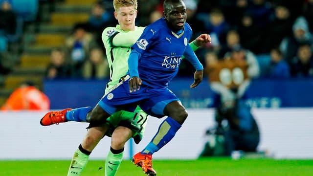 N'Golo Kanté en route vers Chelsea