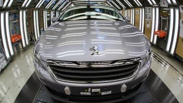 Peugeot est la marque française qui a connu le bond le plus spectaculaire en juin (+20,4%)