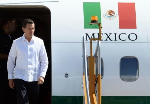 Le président mexicain Enrique Pena Nieto à Manille, le 17 novembre 2015