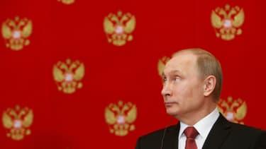 Vladimir Poutine à Moscou, le 5 mars 2015.