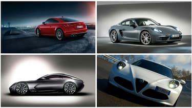Audi TT, Porsche Cayman, TVR et 4C seront des concurrentes pour la nouvelle Alpine A110