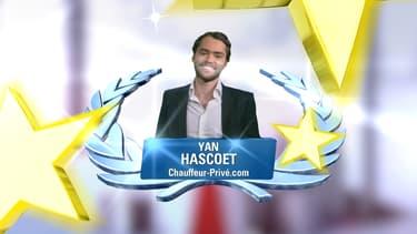 Yan Hascoet, le fondateur de chauffeurprivé.com, est le grand gagnant de la BFM Académie.