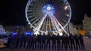 Une manifestation de policiers le 20 octobre à Marseille