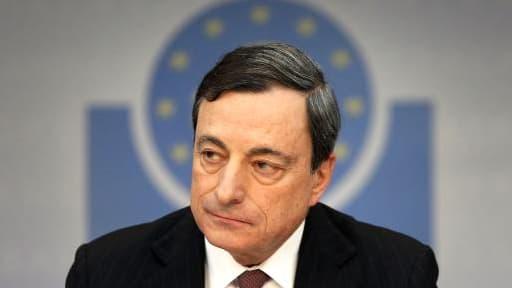 Mario Draghi a indiqué tabler sur 1,2% de croissance pour la zone euro pour 2014.
