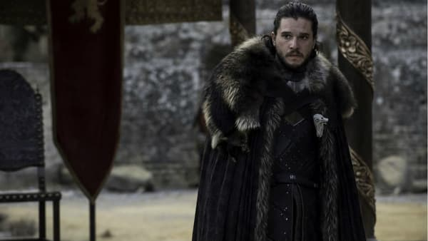 Kit Harington, alias Jon Snow, dans Game of Thrones