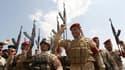 Les troupes irakiennes, ici le 13 juin à Bagdad, se préparent à la contre-offensive contre les rebelles jihadistes.