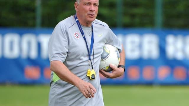 Jean Fernandez, l'entraîneur de Montpellier, n'a pas peur du PSG