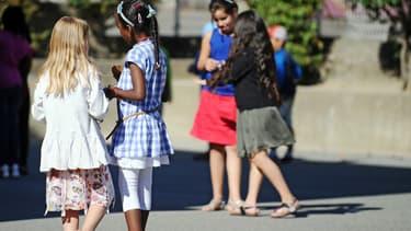 Image d'illustration - Enfants dans une cour de récréation