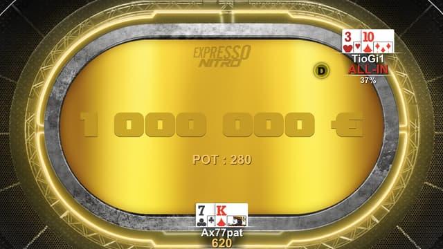 Insolite - Un joueur remporte 800.000 en moins de 10 minutes