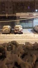 La neige continue de tomber à Valence - Témoins BFMTV