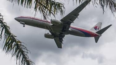 Un avion de la Malaysia Airlines s'apprête à atterrir à l'aéroport de Kuala Lumpur, le 27 août 2014.