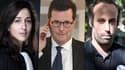 Olivia Ronen, avocate de Salah Abdeslam ; Jean Reinhart, avocat de parties civiles au procès du 13-Novembre ; Arthur Dénouveaux, président de l'association Life for Paris