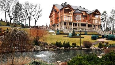 Le luxe de cette propriété de 140 hectares a scandalisé les manifestants.