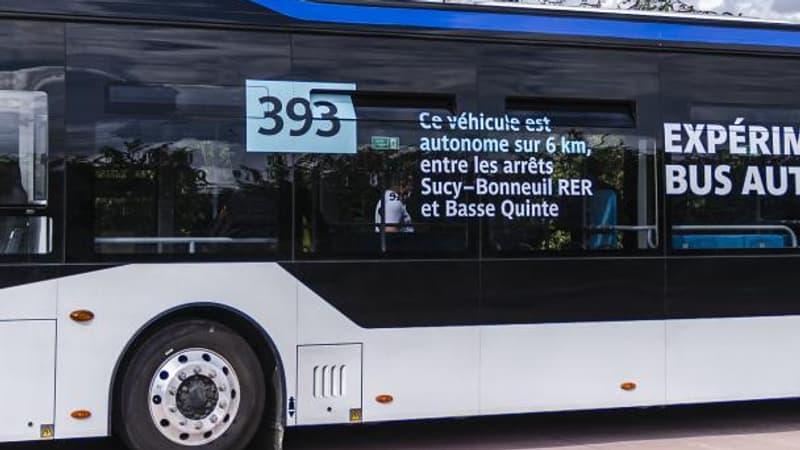 Val-de-Marne: la RATP expérimente une ligne de bus autonomes