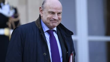 Le secrétaire d'Etat Jean-Marie Le Guen, le 4 janvier 2016 à Paris