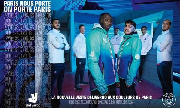 Les tenues Deliveroo aux couleurs du PSG