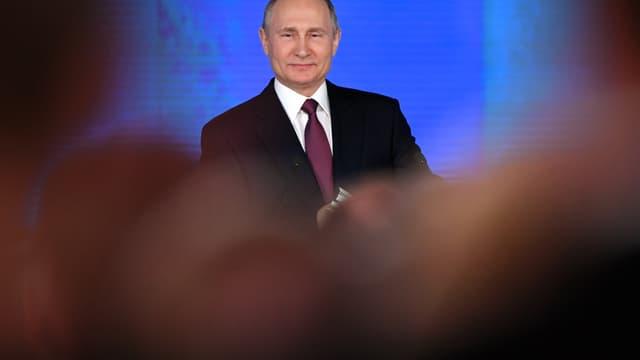 Vladimir Poutine ne veut pas d'une course aux armements.