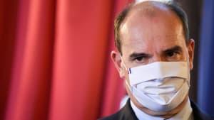 Le Premier ministre Jean Castex le 24 octobre 2020 à Marseille