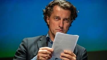 """Dominique Boutonnat le 13 septembre 2019 lors de la 21e édition du  """"Festival de la fiction"""" à La Rochelle."""