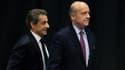Nicolas Sarkozy et Alain Juppé, le 14 octobre 2015.