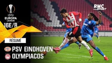 Résumé : PSV Eindhoven 2-1 Olympiacos (Q) - Ligue Europa 16e de finale retour