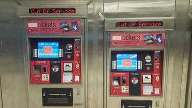 Les distributeurs de tickets des transports de San Francisco étaient hors service.