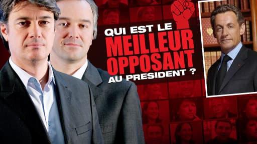 Qui et le meilleur opposant à Sarkozy ?