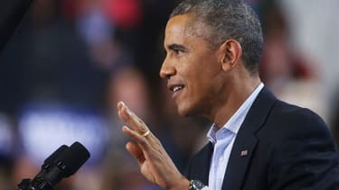 Pour cette élection de mi-mandat, les démocrates souffrent de l'impopularité d'Obama.