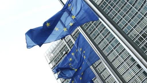 Siège de la Commission européenne, à Bruxelles. Les manifestants ont prévu de se rassembler près des bâtiments abritant les institutions européennes.