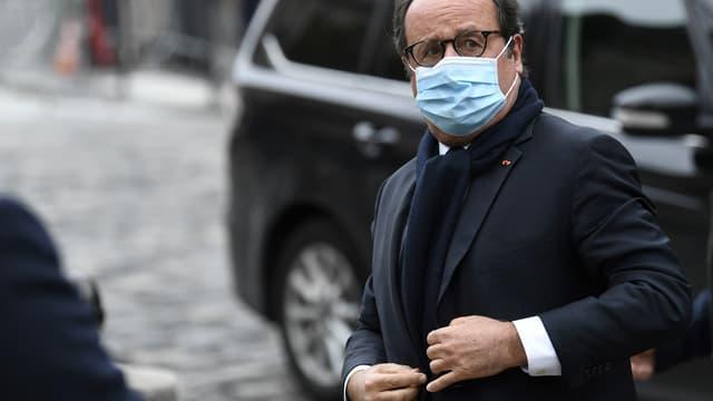 François Hollande le 5 octobre 2020 à Paris