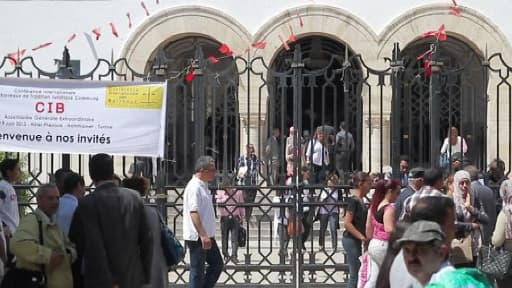 Le palais de justice de Tunis