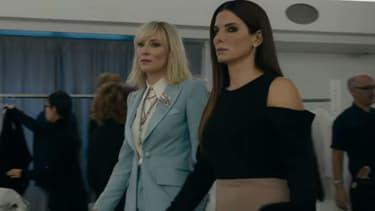 """Sandra Bullock et Cate Blanchett dans """"Ocean's 8"""", attendu dans les salles le 13 juin 2018"""
