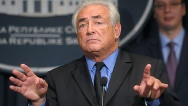 Dominique Strauss-Kahn s'est retiré de LSK après avoir pris conscience des difficultés financières de la société.