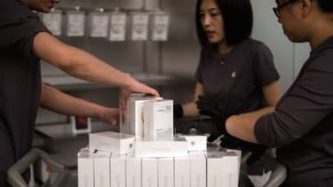 Le Bureau de la propriété intellectuelle de Pékin veut qu'Apple cesse de vendre les iPhone 6 et 6 Plus.