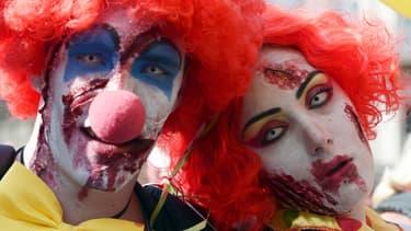 Deux faux clowns ont agressé une personne âgée à Paris (photo d'illustration).