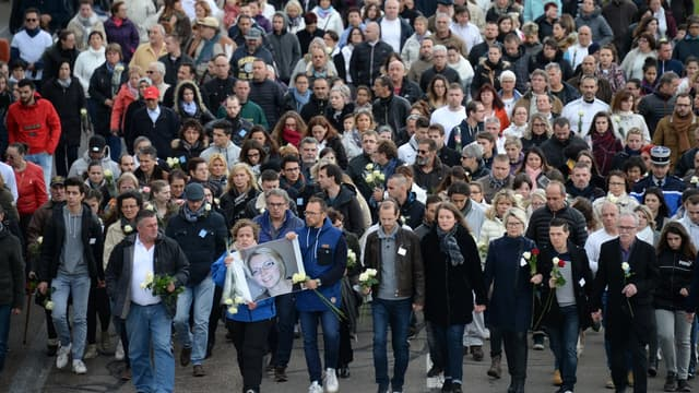 3000 personnes présentes à la marche blanche