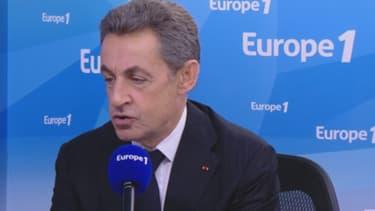 Nicolas Sarkozy était l'invité d'Europe 1, le 2 décembre 2012
